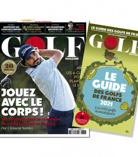 ABONNEMENT GOLF MAGAZINE 1 AN + GUIDE DES GOLFS