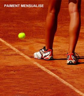 FORMULE CLUB TENNIS ADULTES MENSUALISEE